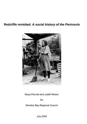 Redcliffe Revisited : A Social History of the Peninsula
